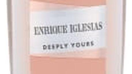 Enrique Iglesias Deeply Yours Woman 75 ml deodorant deospray pro ženy