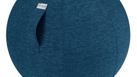 Modrý sedací míč VLUV Stov, Ø60- 65cm