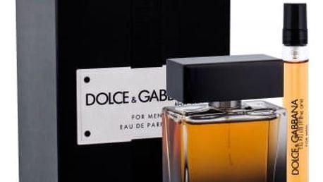 Dolce&Gabbana The One For Men dárková kazeta pro muže parfémovaná voda 50 ml + parfémovaná voda 10 ml