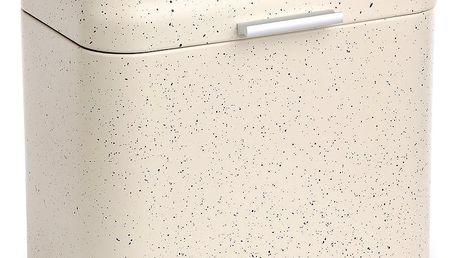 Chlebník béžový mramor 30 x 26,5 x 18 cm