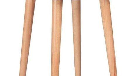 Bílý konferenční stolek Ragaba UFO,Ø45 cm