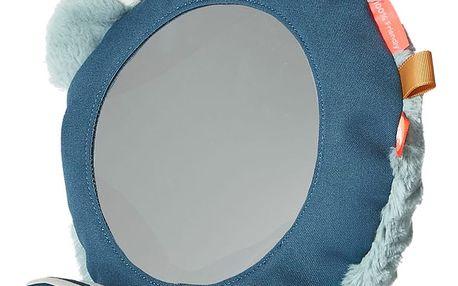 Podlahové zrcátko s modrými detaily Done by Deer