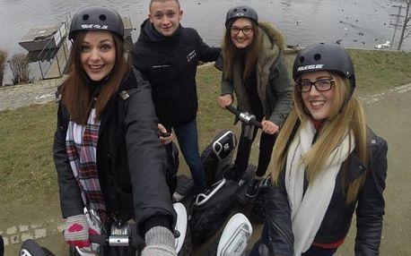 Bezpečná jízda s terénními vozítky Segway, až 2 hodiny jízdy