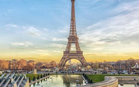 Podzimní Paříž, Disneyland a mořský svět s ubytováním