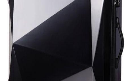 Dámský velký černý kufr na kolečkách Reise 6671