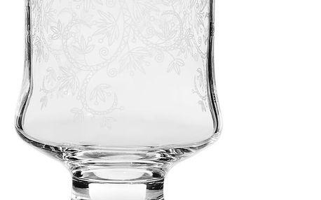 Sada 6 sklenic Mezzo Arya Lace, 310 ml