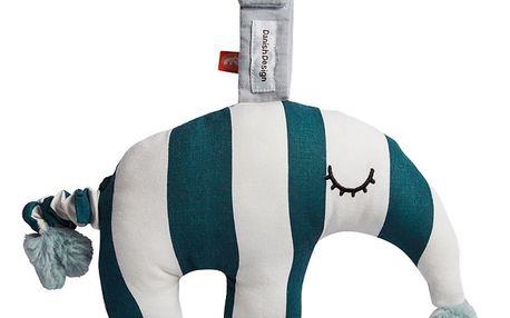Bavlněná hračka s tmavě modrými pruhy Done by Deer Antee