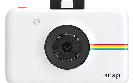 Digitální fotoaparát Polaroid SNAP Instant Digital bílý (POLSP01W)