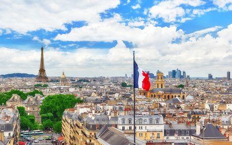 Podzimní Paříž na 4 dny s prohlídkou města a muzeí