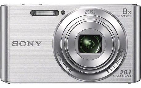Digitální fotoaparát Sony Cyber-shot DSC-W830S stříbrný