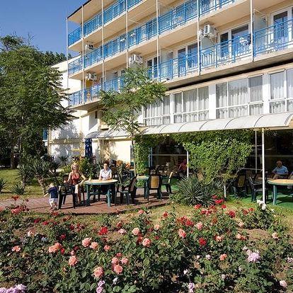 Bulharsko - Slunečné Pobřeží na 8 dní, plná penze, polopenze nebo snídaně s dopravou letecky z Brna, Košic nebo Prahy 250 m od pláže