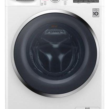 Automatická pračka LG F84J8TS2W bílá