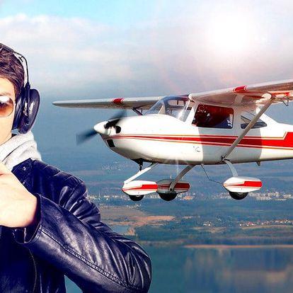 Vzhůru do oblak: 30 minut pilotem na zkoušku