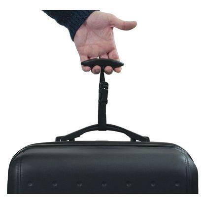Černá digitální váha pro zvážení kufru Bluestar