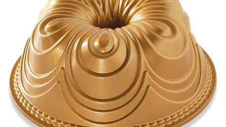 Nordic Ware Forma na bábovku Chiffon, zlatá