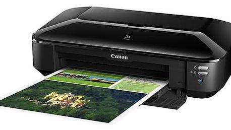 Tiskárna inkoustová Canon PIXMA iX6850 černá (A3, 10str./min, 14str./min, 9600 x 2400, WF, USB) (8747B006AA)