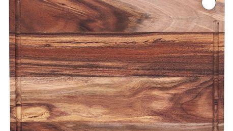 Nicolas Vahé Prkénko na krájení z akáciového dřeva 28x38 cm, hnědá barva, přírodní barva, dřevo