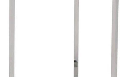 Odkládací stolek s deskou z tvrzeného skla Signal Delia, ⌀43cm