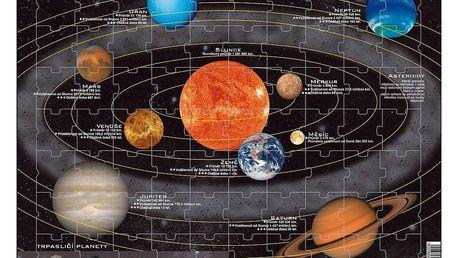Larsen Puzzle Sluneční soustava, 70 dílků