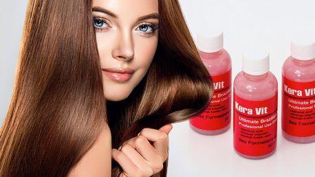 Regenerace vlasů: brazilský keratin Kera Vit