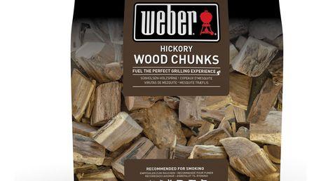 Weber Dřevěné udící lupínky Hickory 1,5 kg
