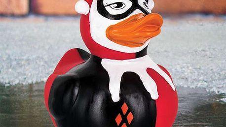 Gumová kachnička Harley Quinn