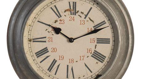Kovové nástěnné hodiny Antic Line Vintagion,⌀34cm