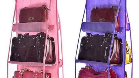 Přenosný věšák na kabelky