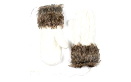 Bílé rukavice Dolores