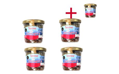 Farmářská terina Le goût du terroir 90 g 4+1 ZDARMA