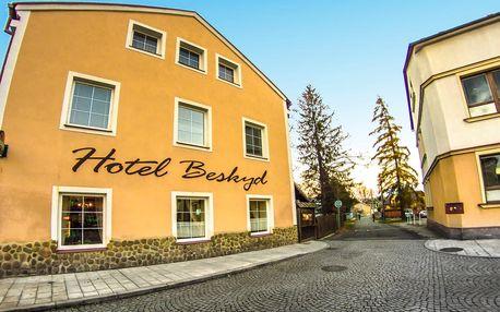 Hotel Beskyd**** s privátním wellness a polopenzí