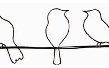 Nástěnná dekorace Graham & Brown Bird On Wire