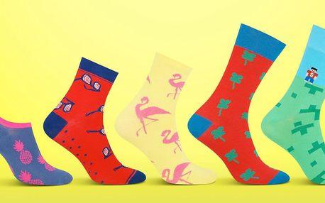 Pánské a dámské designové ponožky