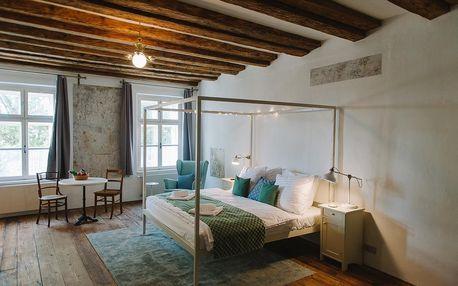 Butikový hotel, vzniklý důmyslnou rekonstrukcí budovy ze 13. století