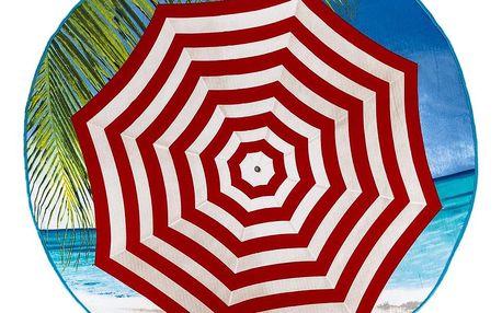 JAHU Plážová osuška micro Slunečník, 150 cm