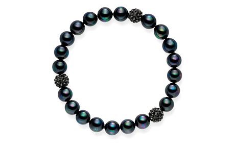 Perlový náramek Nova Pearls Copenhagen Fabienne, délka 19 cm