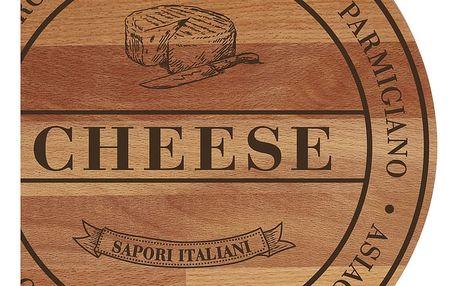 Prkénko z bukového dřeva Bisetti Broad Cheese,30cm