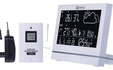 Meteorologická stanice EMOS E5005 bílá (2606155000)