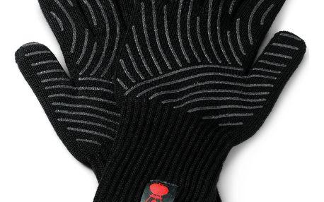 Weber Grilovací rukavice černá L/XL 2 ks