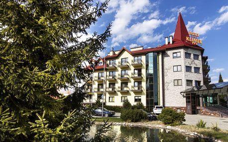 Vyhledávaný polský hotel Klimek **** s aquaparkem