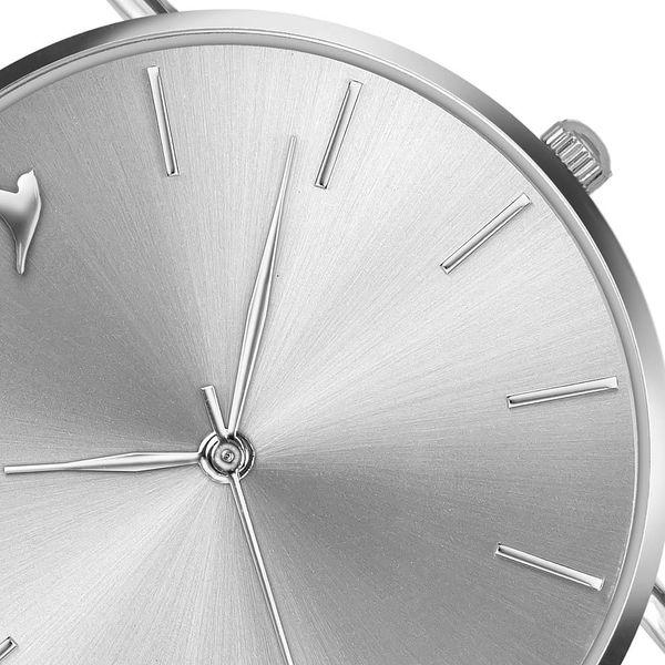 Dámské hodinky s páskem z nerezové oceli ve stříbrné barvě Emily Westwood Top3