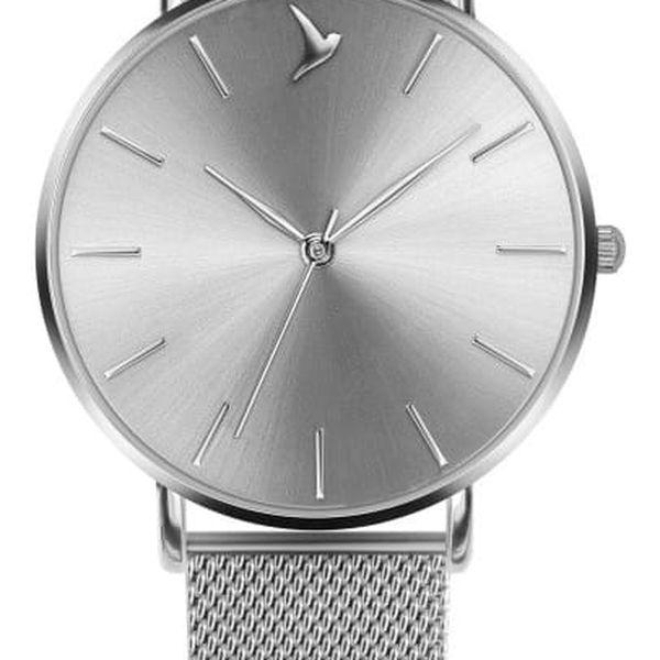 Dámské hodinky s páskem z nerezové oceli ve stříbrné barvě Emily Westwood Top