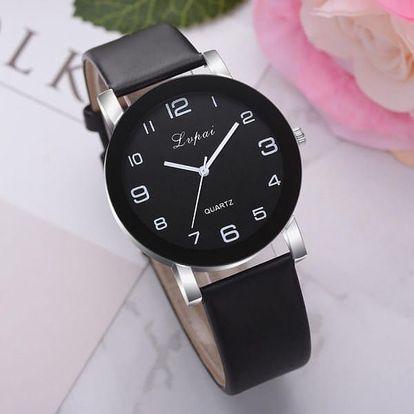 Dámské hodinky s černým ciferníkem - 12 variant