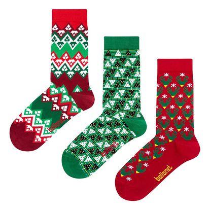 Dárková sada ponožek Ballonet Christmas, velikost 36-40