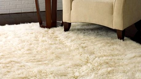 Vlněný koberec Royal Dream Pure Light,70x160cm