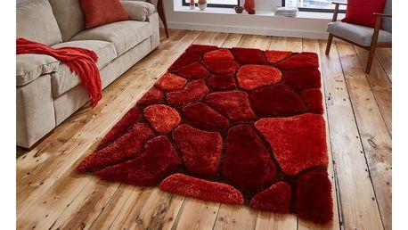 Oranžovo-červený koberec Think Rugs Noble House, 120 x 170 - doprava zdarma!