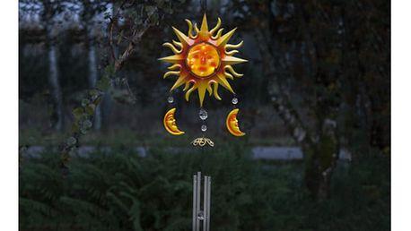 Solarní závěsná světelná LED dekorace vhodná do exteriéru Best Season Windy