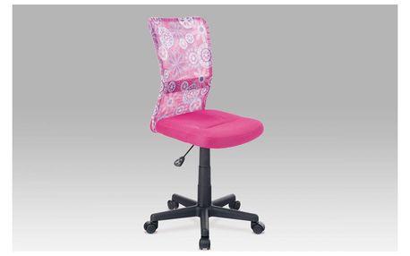 Dětská kancelářská židle KA-2325 PINK Autronic