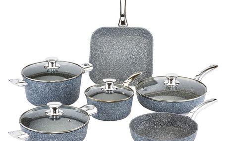 10dílný set nádobí s poklicemi Bisetti Pierre Gourmet