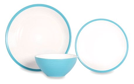 12dílná sada nádobí z porcelánu Sabichi Acapulco